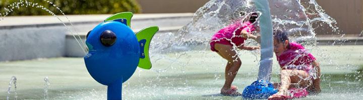 Seguridad en los juegos de los parques de agua
