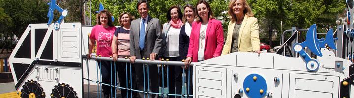Alcobendas inaugura su primer parque infantil inclusivo
