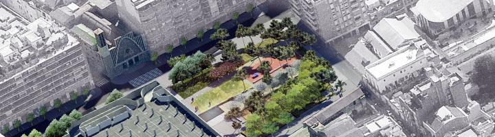 Barcelona remodelará los jardines de Can Mantega, en el barrio de Sants