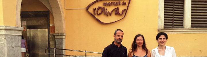 EMAYA y el Área de Sanidad y Consumo han puesto en marcha la recogida selectiva en el Mercado del Olivar