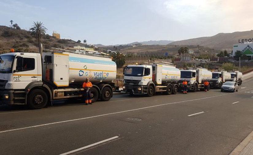FCC Medio Ambiente recibe la Medalla de Oro al Mérito del Cuerpo de Bomberos de Las Palmas de Gran Canaria