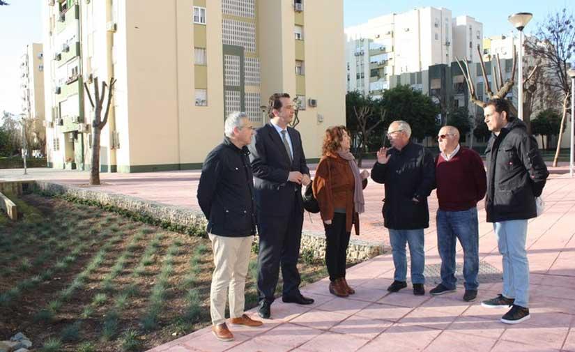 Finalizan las obras de reurbanización de la Avenida de Las Asociaciones de Vecinos del Distrito Norte de Sevilla