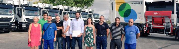 EMAYA renueva el 40% de la flota de recogida de residuos con 31 nuevos vehículos
