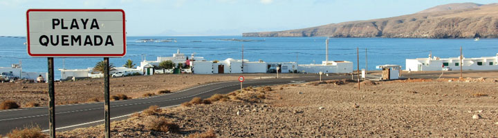 Yaiza licita nuevo alumbrado público fotovoltaico para Playa Quemada