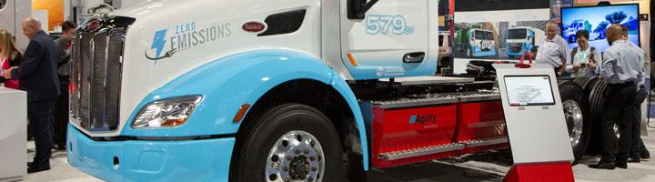 Allison Transmission facilita a Peterbilt su solución de eje eléctrico para que lo evalúe en el potente camión eléctrico Class 8
