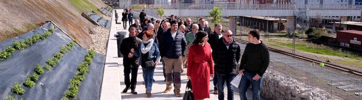 Santander conecta La Peña del Cuervo con pasarela y ascensores que unen Castilla-Hermida y calle Alta