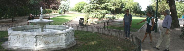 Toledo impulsa arreglos y mejoras en la Rosaleda y otros espacios ajardinados del parque de la Vega