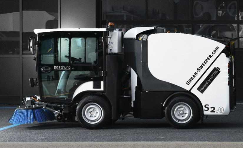 GEESINKNORBA presenta su última novedad: la barredora Boschung S2 eléctrica y totalmente autónoma