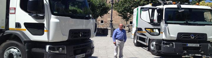 Dos nuevo vehículos para reforzar el servicio de limpieza de El Escorial