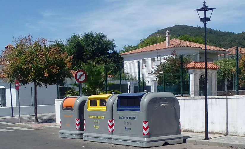 Giahsa concluye el proceso de implantación del nuevo sistema de recogida de residuos en la Sierra de Huelva