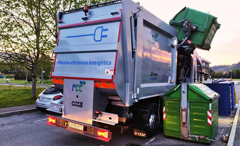 Gijón testea el recolector de residuos eléctricoIE-Urban desarrollado por FCC Medio Ambiente