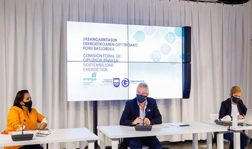 Gipuzkoa reducirá un 60% el consumo de energía en todos sus edificios para 2050
