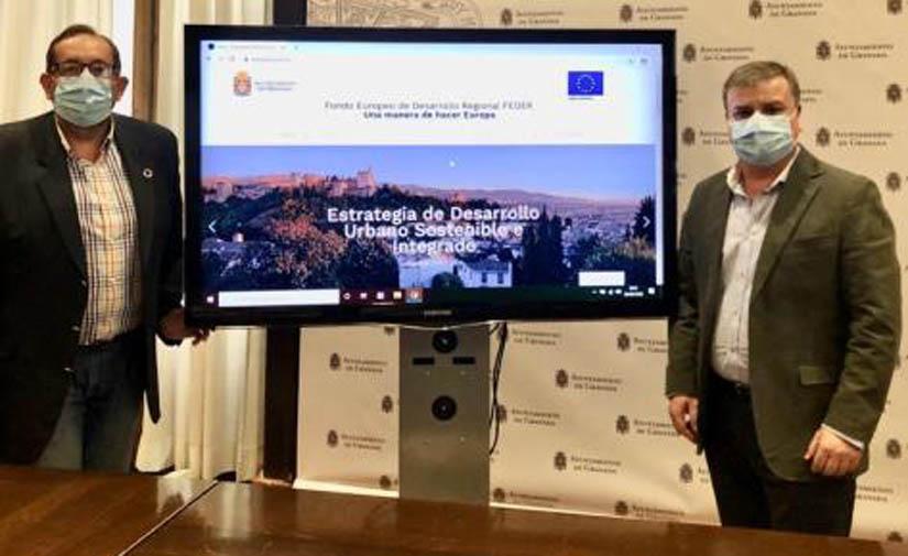 Granada activa una web para informar a la ciudadanía sobre la marcha de los proyectos Edusi