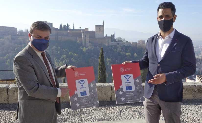 Granada instalará 73 puntos WiFi de acceso gratuito