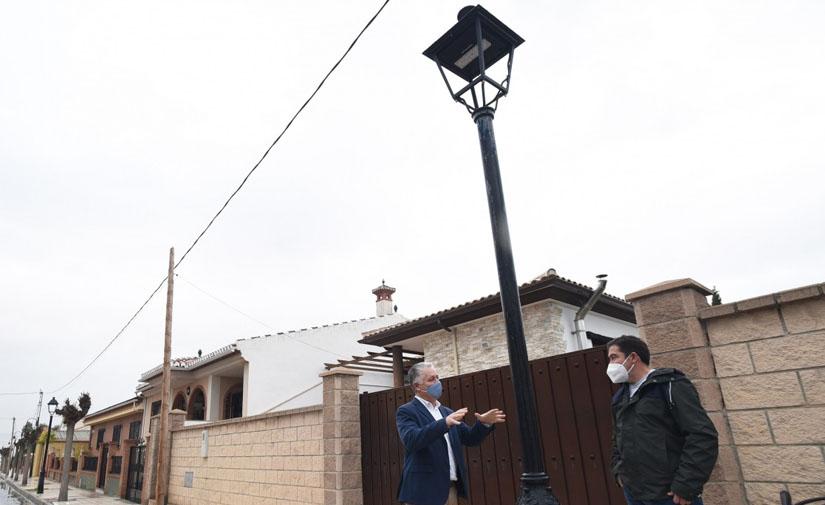 Granada renovará con LED el alumbrado público de 66 municipios para ahorrar un 50% de energía