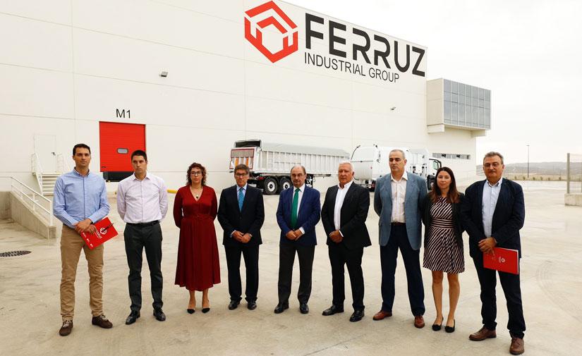 Grupo Industrial Ferruz unifica todas sus divisiones en su nueva sede para duplicar su producción en 2020