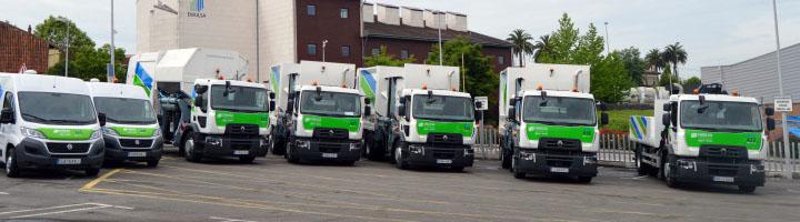 EMULSA incorpora cinco nuevos camiones y tres furgones a su flota de vehículos
