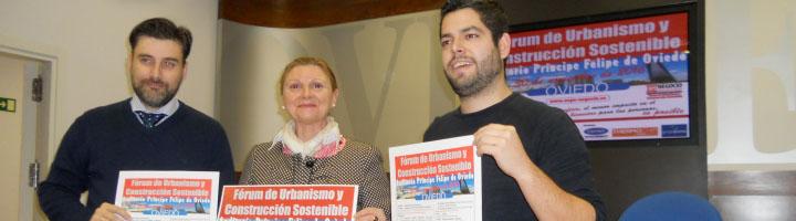 Presentado el I Fórum de Urbanismo y Construcción Sostenible en Oviedo