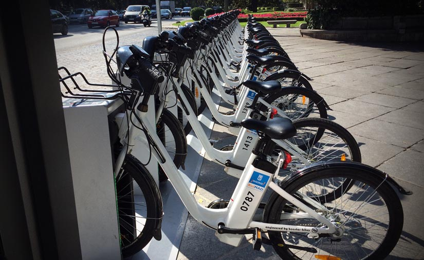 Hasta el 90% de los usuarios de bicicletas compartidas en Madrid se usan como un transporte habitual