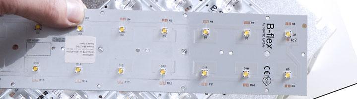 B-flex, el nuevo módulo LEDs diseñado y desarrollado por Benito Urban