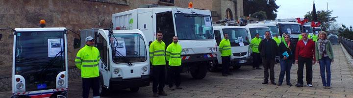 Andratx presenta su nueva flota de camiones para la recogida selectiva