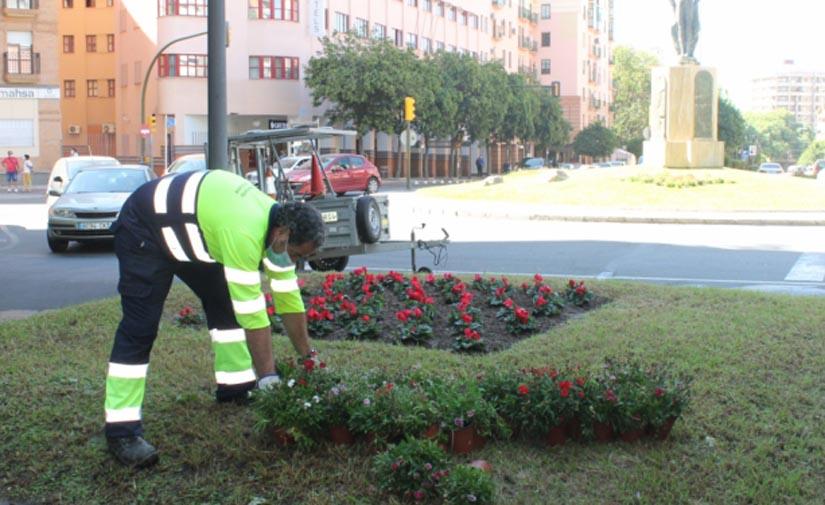 Huelva plantó en 2020 casi 4.000 ejemplares de árboles y plantas de temporada