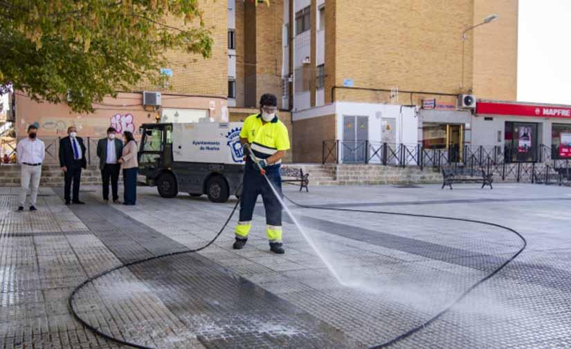 Huelva refuerza el Plan de Acción de Mejora de la Limpieza en la ciudad