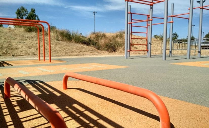 Huesca estrena su primer Street Workout