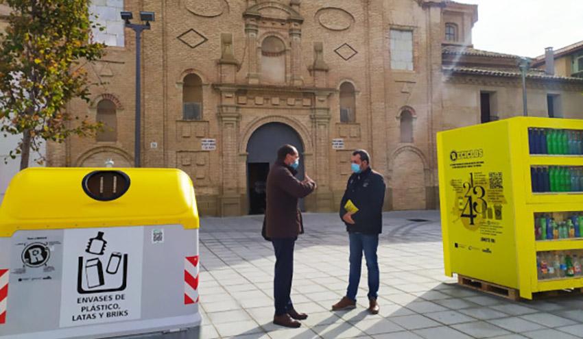 Huesca, primera capital de provincia en incorporar el Sistema de Devolución y Recompensa de Ecoembes