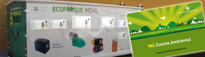 El Consorcio Valencia Interior mejora la recogida selectiva de residuos gracias al impulso de mi Cuenta Ambiental