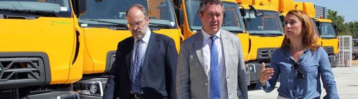 Sevilla adquiere 28 nuevos vehículos para Lipasam tras una inversión de 4 millones y licita nuevos proyectos