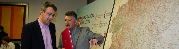 La Diputación de León invertirá 27 millones en modernizar 212,3 kilómetros de la red provincial de carreteras