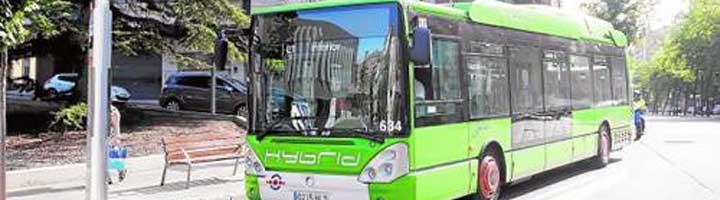 Un Citelis híbrido se incorpora al transporte urbano de Lleida