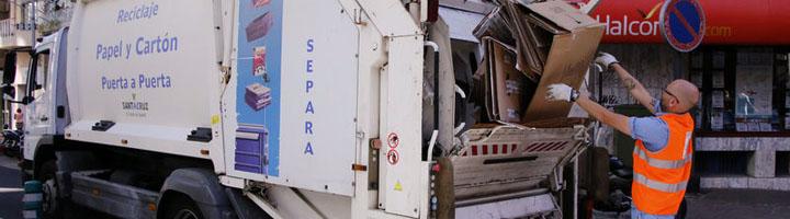 El nuevo servicio de limpieza de Santa Cruz de Tenerife ampliará las frecuencias y horarios de la recogida separada