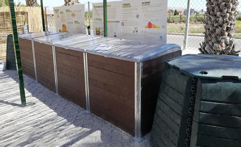 Impulso a la recogida selectiva en Alicante a través de centros de compostaje en 20 municipios
