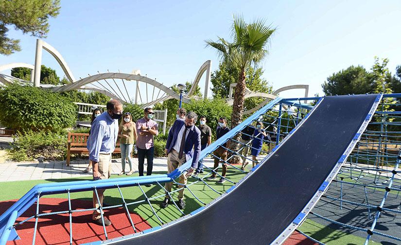 Inaugurado el jardín de Montegrande en Murcia
