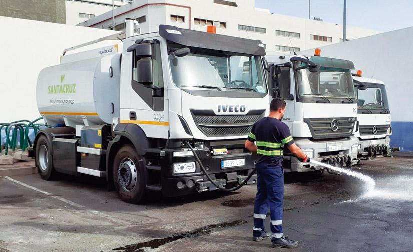 Innovación Surtruck para la limpieza de Santa Cruz de Tenerife