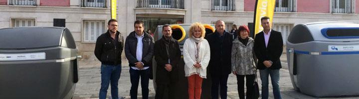 Comienza la instalación de los 1.000 nuevos contenedores del nuevo servicio de Higiene Urbana en Aranjuez