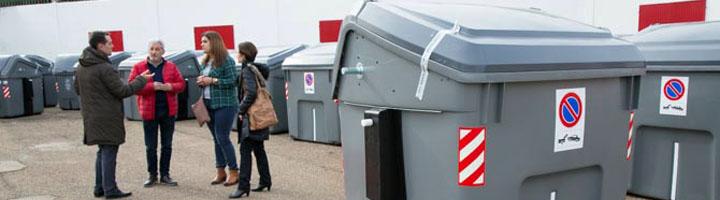 Benavente presenta los contenedores de carga lateral de Contenur