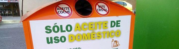 San Sebastián de los Reyes acerca el reciclaje de aceite doméstico a los vecinos con 20 nuevos contenedores