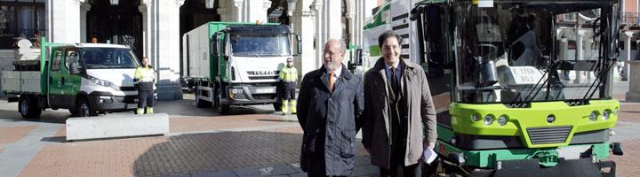 Valladolid incorpora ocho nuevos vehículos a la flota del Servicio de Limpieza