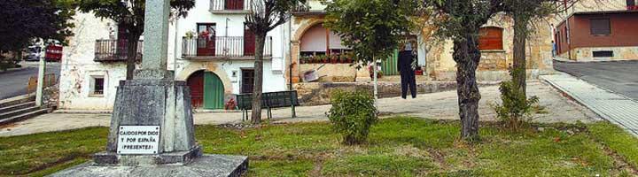 Se convoca un nuevo concurso para mejorar el jardín Cruz de los Caídos en Hontoria del Pinar (Burgos)
