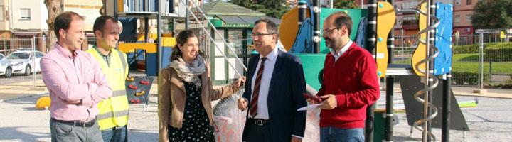 Torrelavega finalizará este mes las obras del nuevo parque infantil del Barrio Covadonga