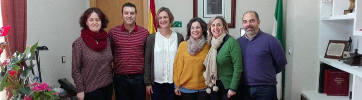 Encuentro en Ubrique para mejorar el alumbrado y la gestión de residuos
