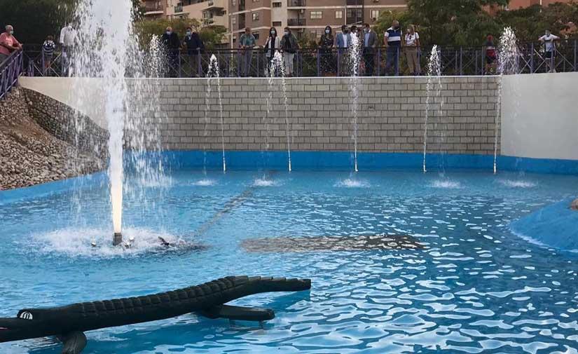 Jaén recupera cinco de las fuentes ornamentales más emblemáticas de la capital
