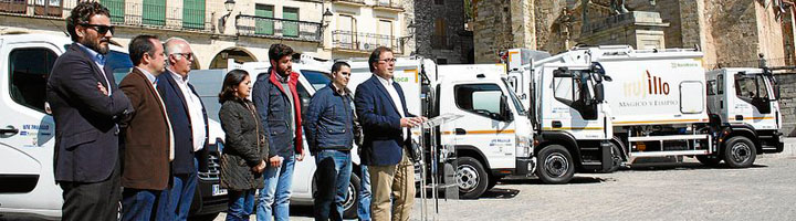 Trujllo presenta la nueva UTE para el mantenimiento de parques, limpieza viaria y recogida de basuras