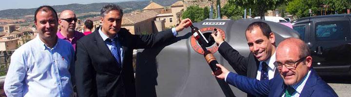 Cuenca instala 25 nuevos contenedores de reciclaje de vidrio en el casco antiguo