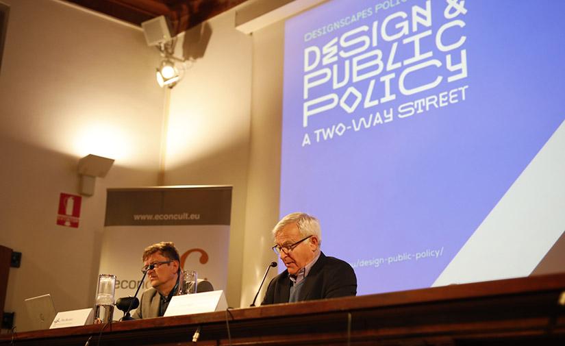 Joan Ribó propone crear una 'Alianza de ciudades por el diseño' para afrontar los retos urbanos de este siglo