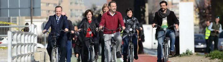 Fomento invierte 650.000 euros en la red ciclista de La Vega de Granada para facilitar su conexión con el área metropolitana