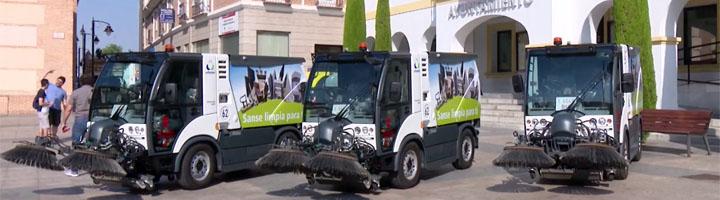 San Sebastián de los Reyes presenta parte de los vehículos del nuevo contrato de limpieza viaria y recogida de residuos